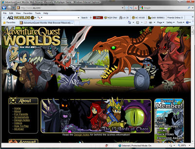 AQWorlds Battle Bar!