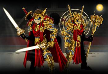 best rpg armor set golden gladiator items upgrade