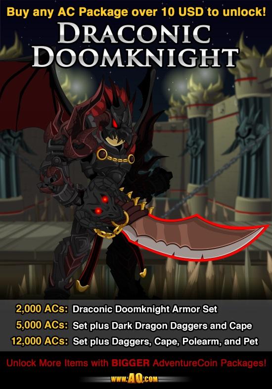 AQW Daily Legion Rider Armor sketch UPdate Art t