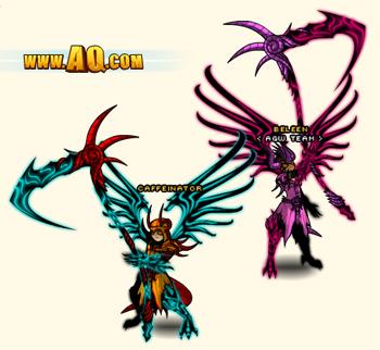 Abyssal Darkness Set in online adventure game