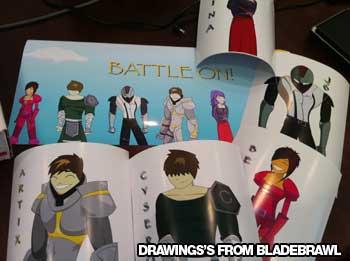 Bladebrawl's artwork