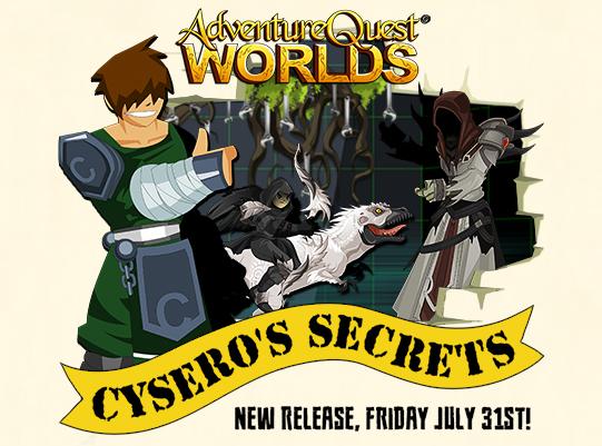 free rpg mmo cysero secret