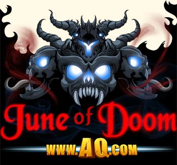 Dage the Evil June of Doom in online adventure games