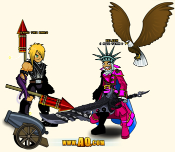 Independence Day in AQW
