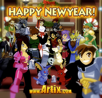 Happy New Year from Artix Entertainment