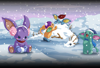 Christmas contest Art holidays adventure quest worlds online mmo