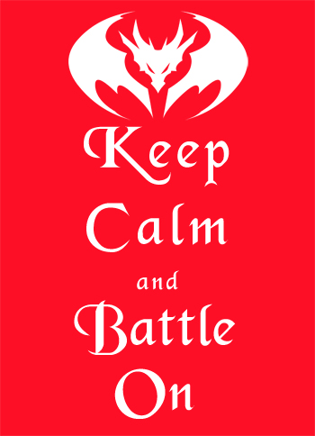 Keep calm and battle on online adventure game AdventureQuest Worlds