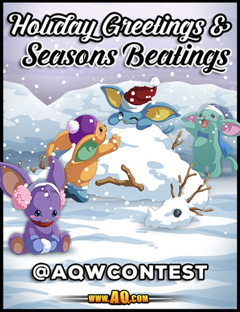 New Holiday Contest for Christmas in online game adventure quest worlds