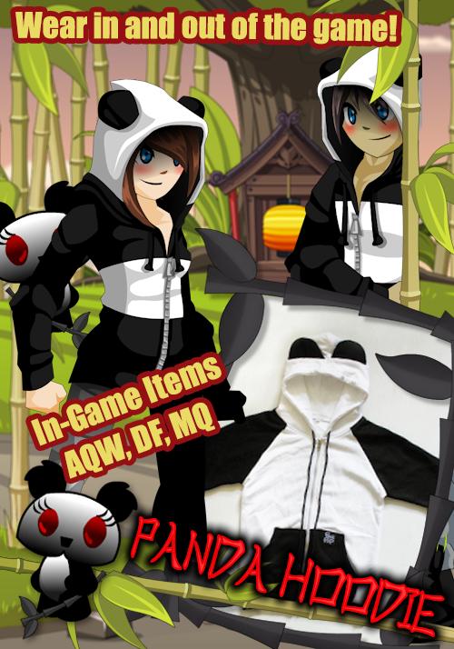 panda hoodie heromart