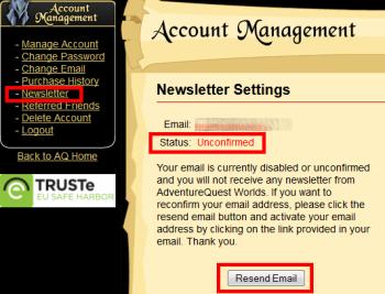 resend newsletter