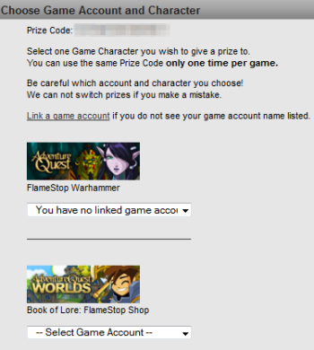 Special Offer tagged AQW Design Notes