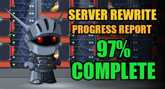 Resultado de imagem para server rewrite aqw