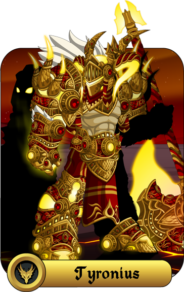 Tyronius the ShadowFire God