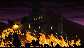free mmo rpg burning castle