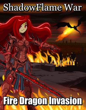 aqw fire dragon evil war