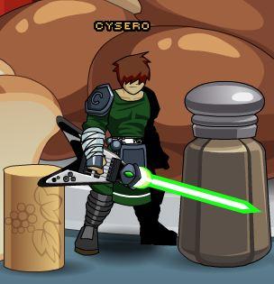 Green StarGuitar!
