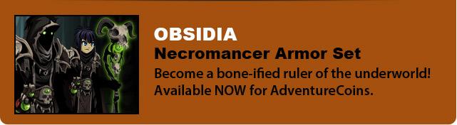 Obsidia - Necromancer Armor Set