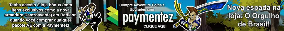 Clique aqui para comprar Coins com PayMentez!