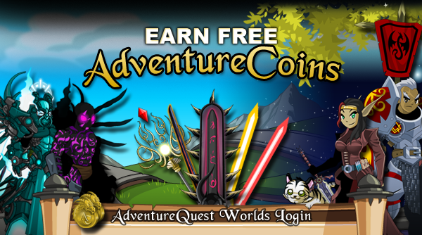 Earn Free AdventureCoins