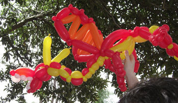 Real Balloon Dragon