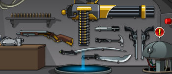 Hyperium j6 weapons