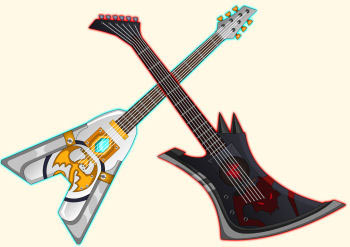 Battle Guitars