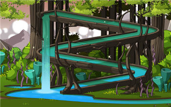 Design Notes April 13th Escherion-waterfall