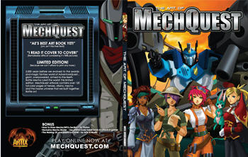 MechQuest Art Book