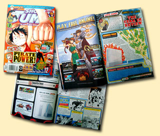 Shonen Jump AdventureQuest Ad