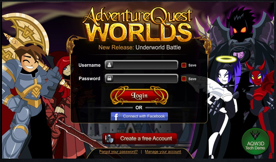 Free Online Login Games
