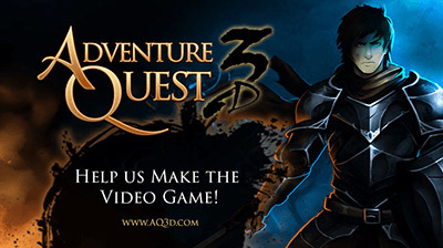 New AdventureQuest 3D!
