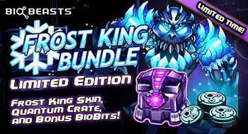 BioBeasts Frost King Bundle!