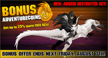 Summer Madness AC Bonus Leaves Ends Next Friday!